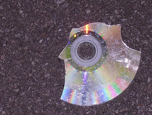 Smashed CD